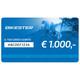 Bikester Carta regalo 1.000 €